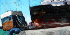 Contemporary Artist & Painter Leef Evans